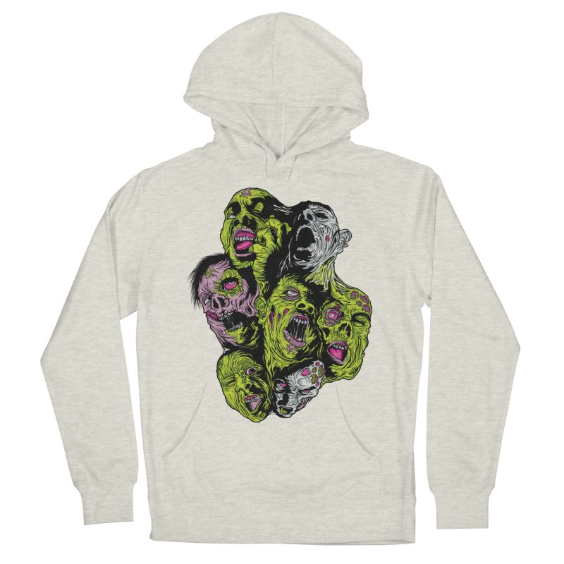Fight of the Living Dead (Tee) Men's French Terry Pullover Hoody by Anthony Petrie Print + Product Design
