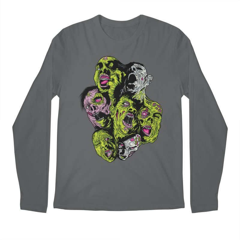 Fight of the Living Dead (Tee) Men's Regular Longsleeve T-Shirt by Anthony Petrie Print + Product Design