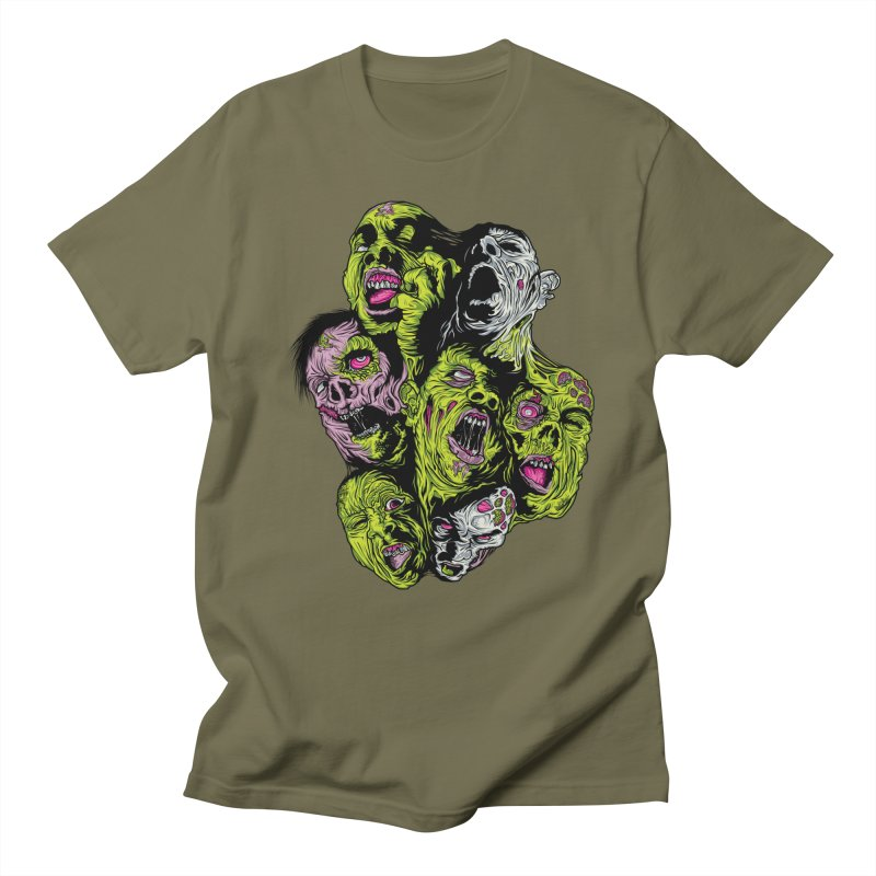 Fight of the Living Dead (Tee) Women's Regular Unisex T-Shirt by Anthony Petrie Print + Product Design