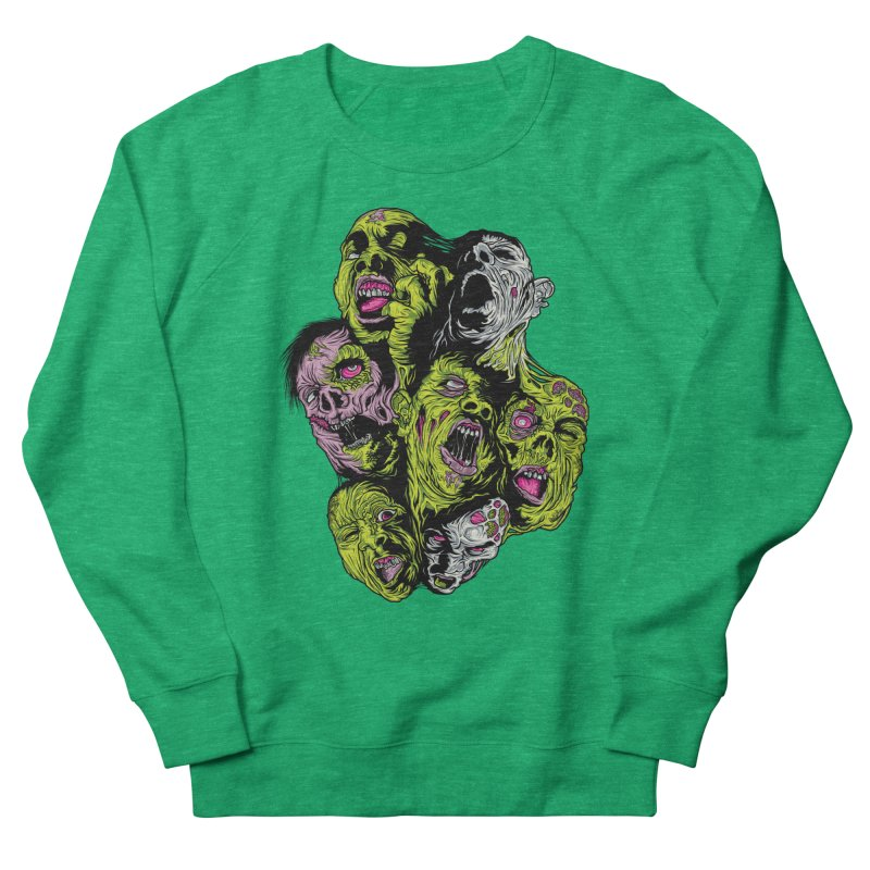 Fight of the Living Dead Women's Sweatshirt by Anthony Petrie Print + Product Design