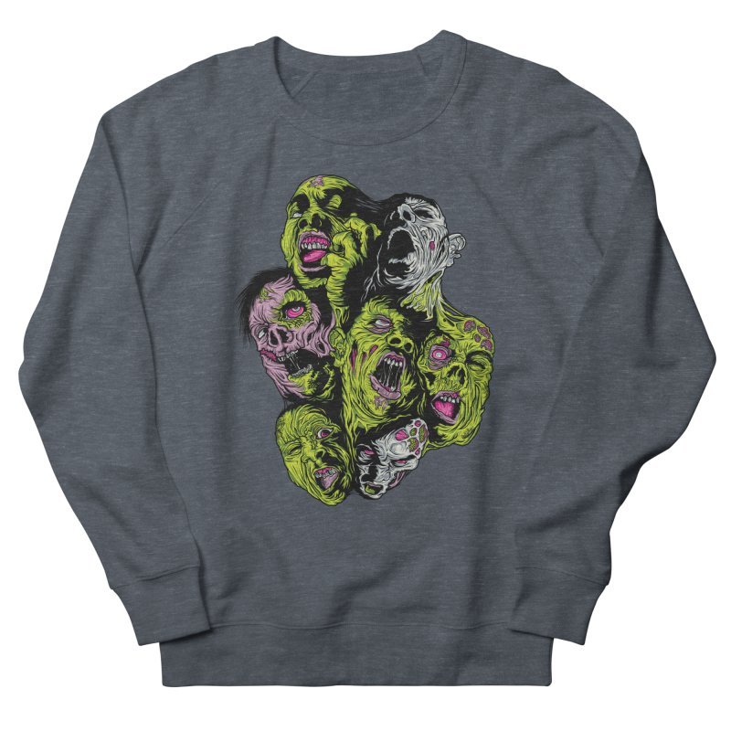 Fight of the Living Dead (Tee) Women's Sweatshirt by Anthony Petrie