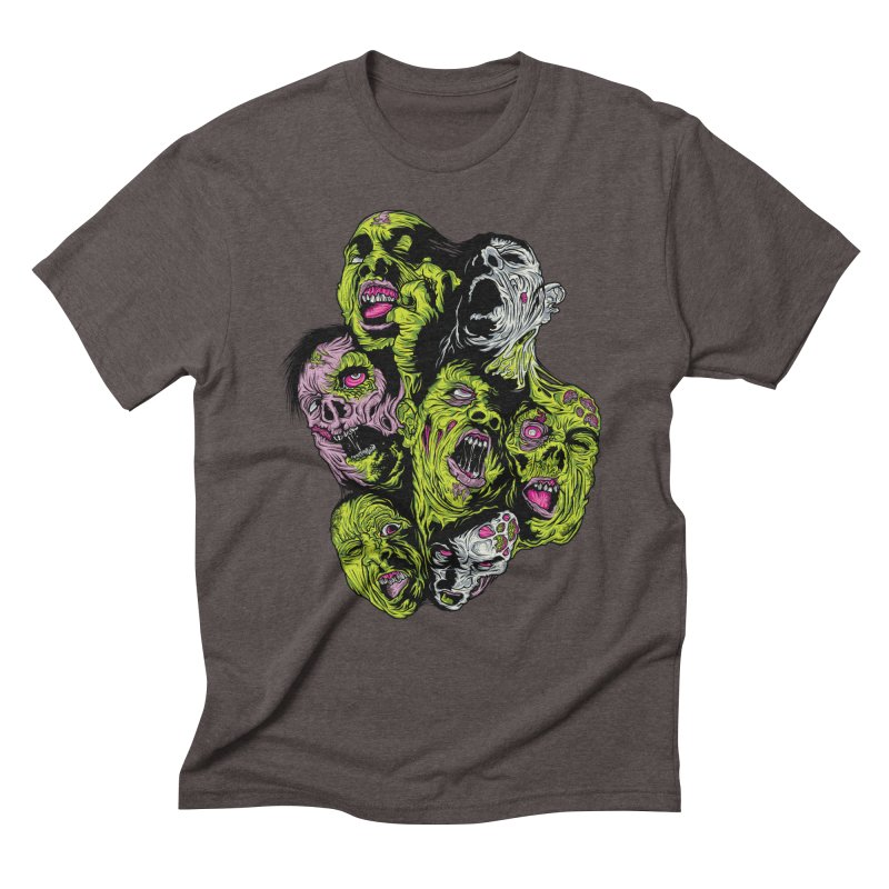 Fight of the Living Dead (Tee) Men's Triblend T-Shirt by Anthony Petrie Print + Product Design