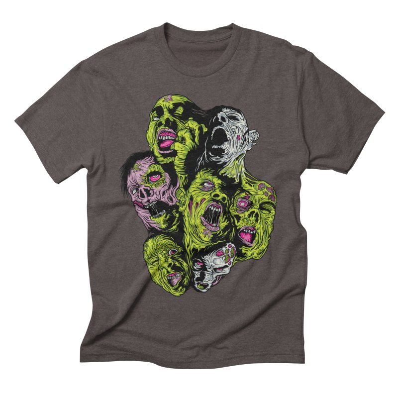 Fight of the Living Dead (Tee) Men's Triblend T-shirt by Anthony Petrie