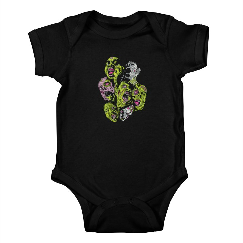 Fight of the Living Dead (Tee) Kids Baby Bodysuit by Anthony Petrie