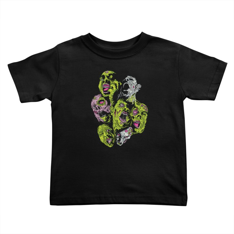 Fight of the Living Dead (Tee) Kids Toddler T-Shirt by Anthony Petrie Print + Product Design