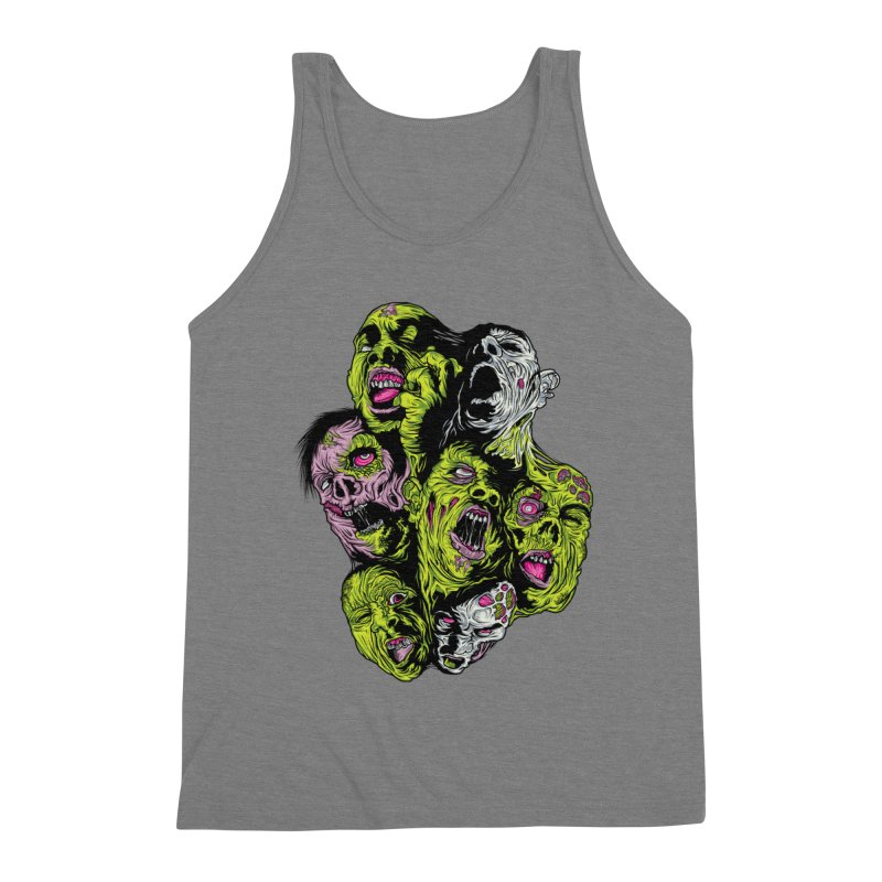Fight of the Living Dead (Tee) Men's Triblend Tank by Anthony Petrie Print + Product Design