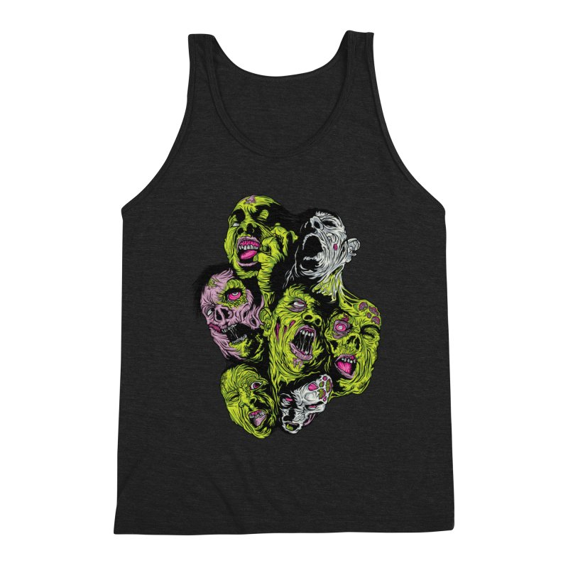 Fight of the Living Dead Men's Tank by Anthony Petrie Print + Product Design