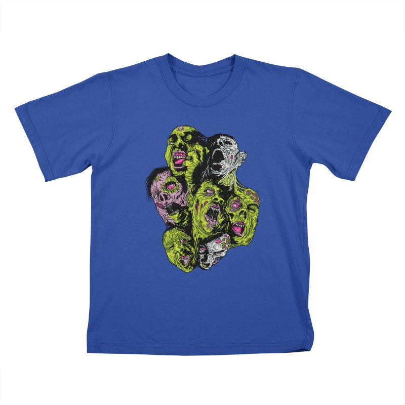 Fight of the Living Dead (Tee) Kids T-Shirt by Anthony Petrie Print + Product Design