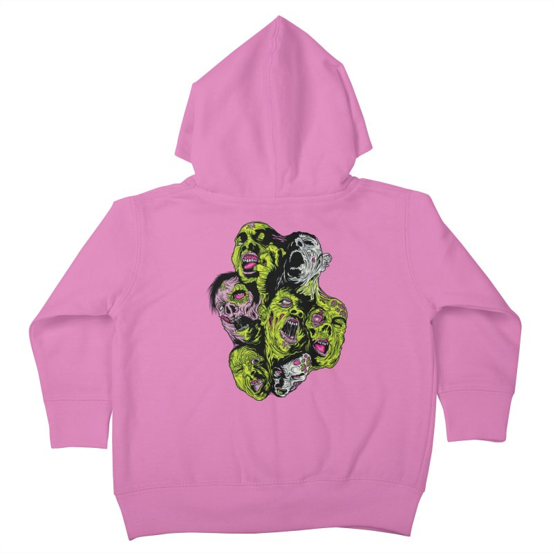 Fight of the Living Dead (Tee) Kids Toddler Zip-Up Hoody by Anthony Petrie