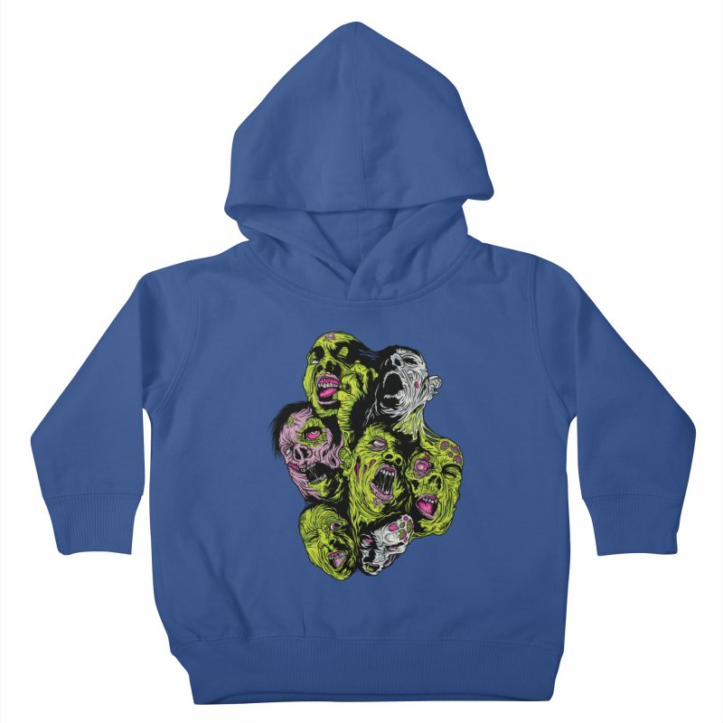 Fight of the Living Dead (Tee) Kids Toddler Pullover Hoody by Anthony Petrie Print + Product Design