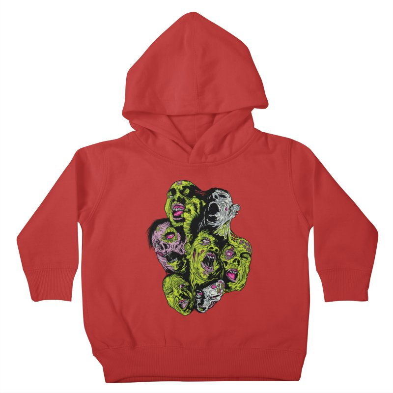 Fight of the Living Dead (Tee) Kids Toddler Pullover Hoody by Anthony Petrie