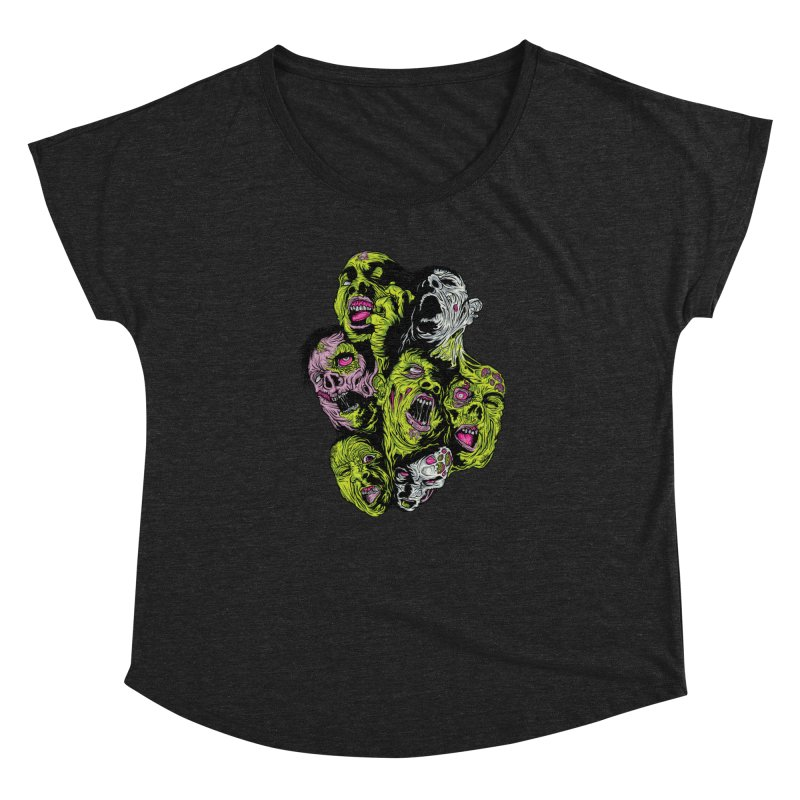 Fight of the Living Dead (Tee) Women's Dolman by Anthony Petrie Print + Product Design