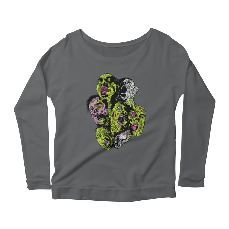 Fight of the Living Dead Women's Longsleeve T-Shirt by Anthony Petrie Print + Product Design
