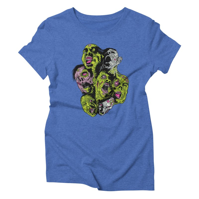 Fight of the Living Dead (Tee) Women's Triblend T-shirt by Anthony Petrie