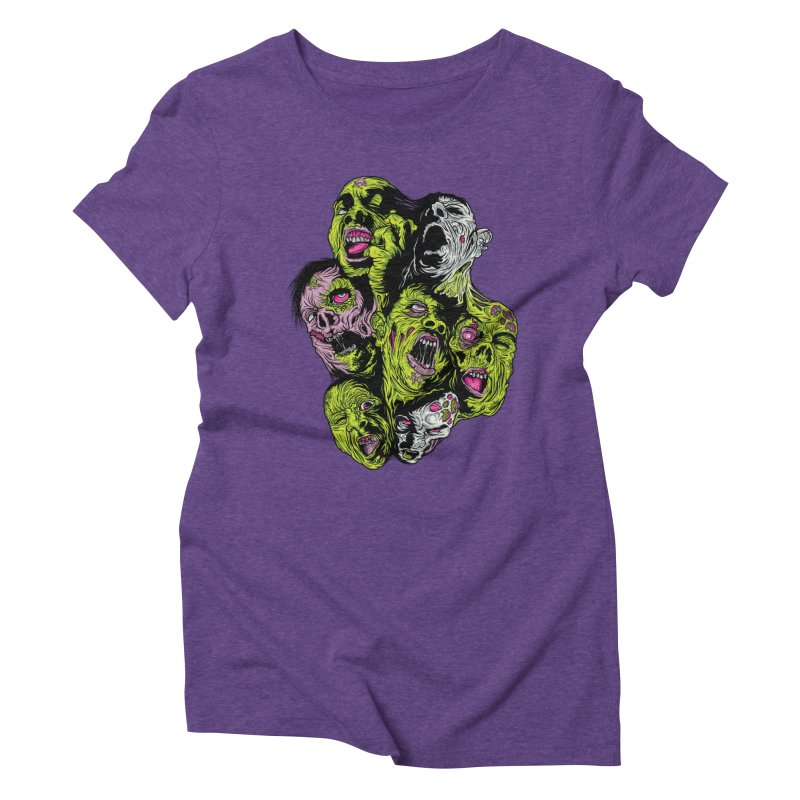 Fight of the Living Dead (Tee) Women's Triblend T-Shirt by Anthony Petrie Print + Product Design