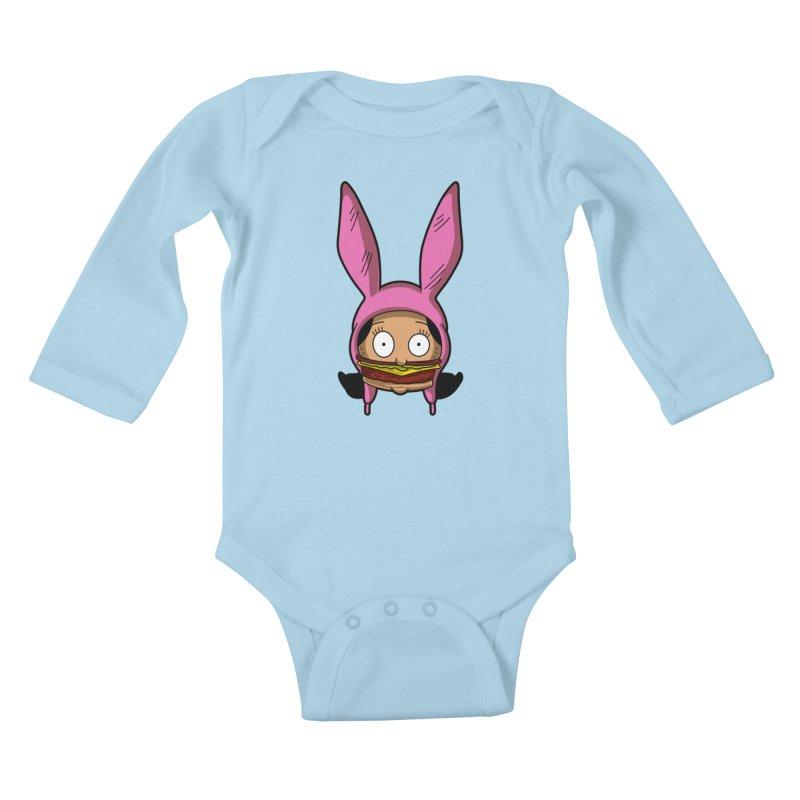 Louise Kids Baby Longsleeve Bodysuit by Anthony Petrie