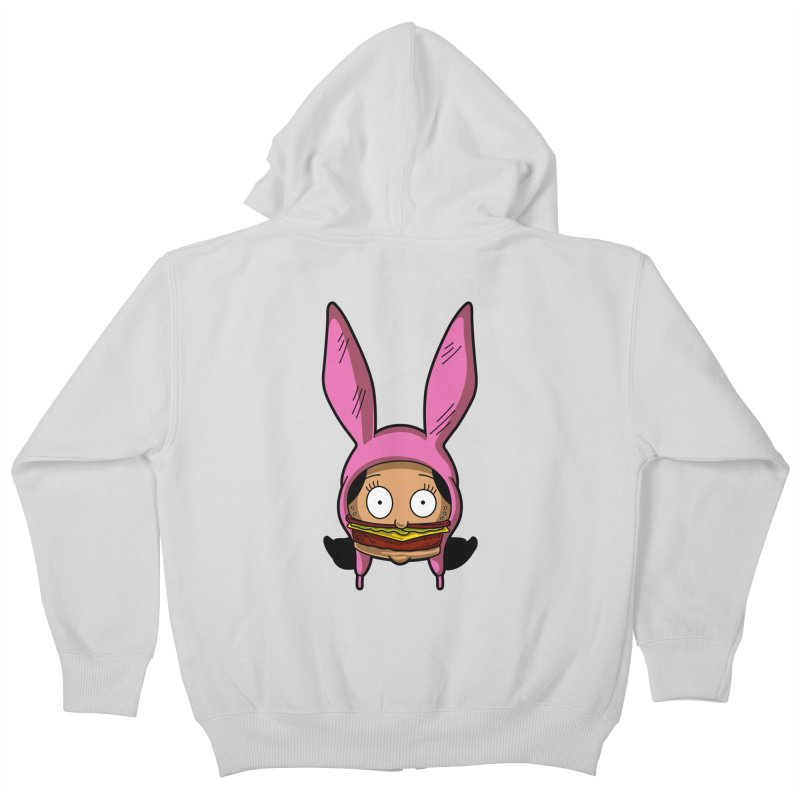 Louise Kids Zip-Up Hoody by Anthony Petrie