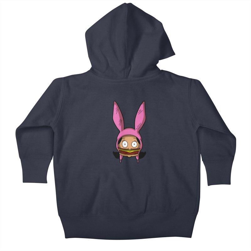 Louise Kids Baby Zip-Up Hoody by Anthony Petrie