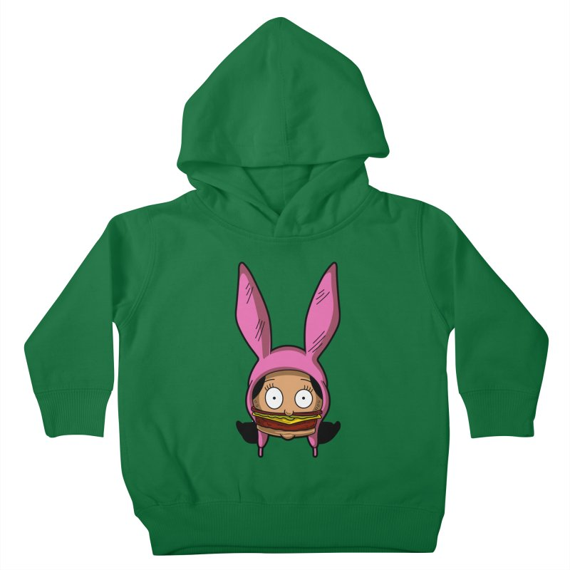Louise Kids Toddler Pullover Hoody by Anthony Petrie