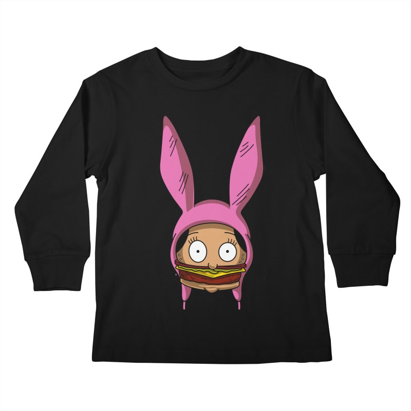Louise Kids Longsleeve T-Shirt by Anthony Petrie