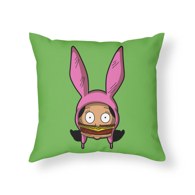 Louise Home Throw Pillow by Anthony Petrie