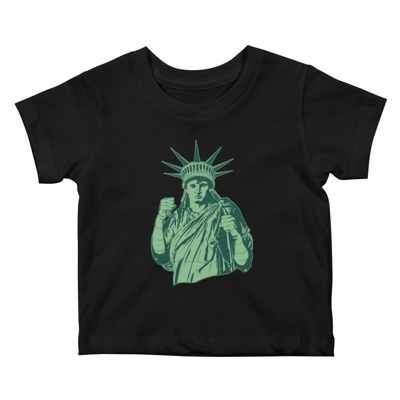 Fight For Your Rights Kids Baby T-Shirt by Anthony Petrie Print + Product Design