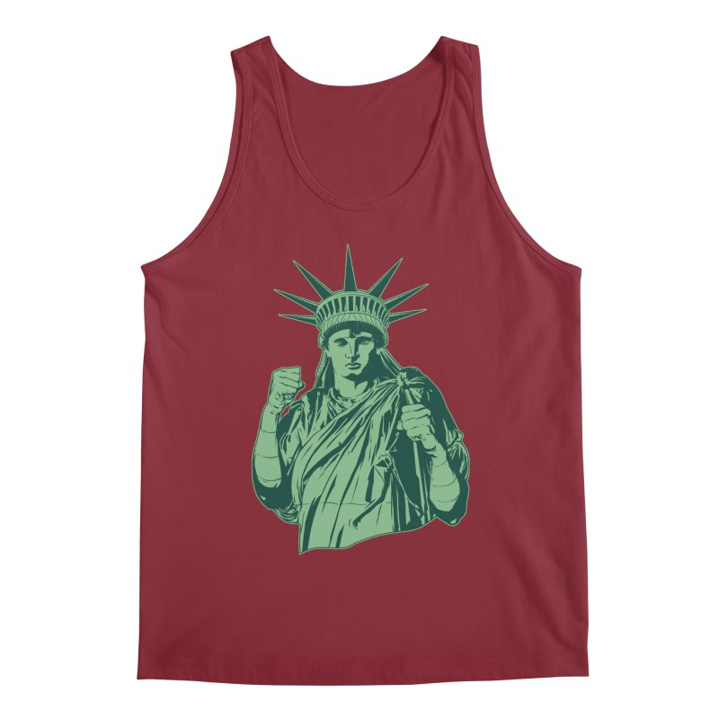 Fight For Your Rights Men's Tank by Anthony Petrie Print + Product Design