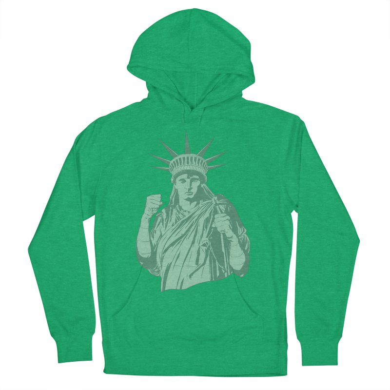 Fight For Your Rights Women's French Terry Pullover Hoody by Anthony Petrie Print + Product Design