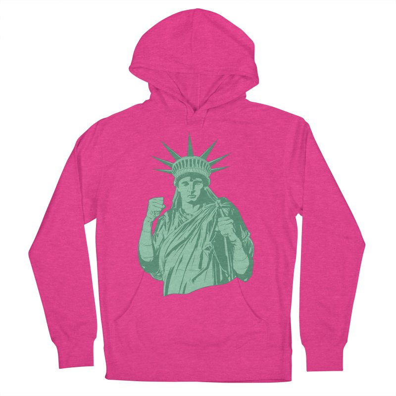 Fight For Your Rights Men's French Terry Pullover Hoody by Anthony Petrie Print + Product Design