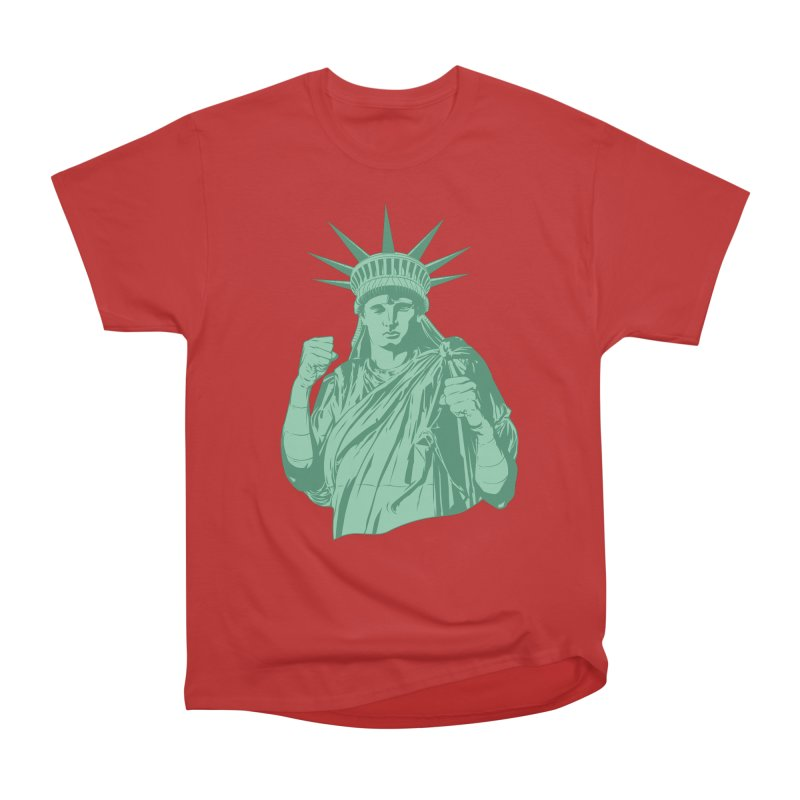 Fight For Your Rights Women's Heavyweight Unisex T-Shirt by Anthony Petrie Print + Product Design