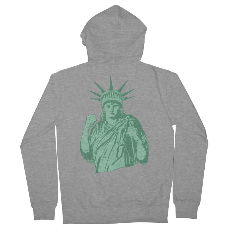 Fight For Your Rights Women's Zip-Up Hoody by Anthony Petrie