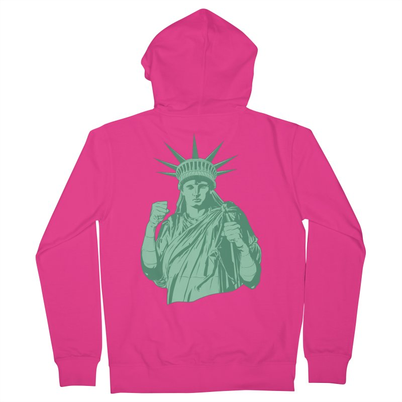 Fight For Your Rights Men's French Terry Zip-Up Hoody by Anthony Petrie Print + Product Design