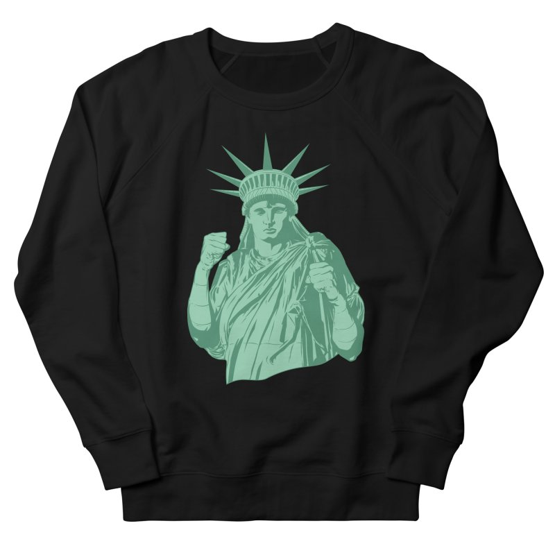 Fight For Your Rights Men's French Terry Sweatshirt by Anthony Petrie Print + Product Design
