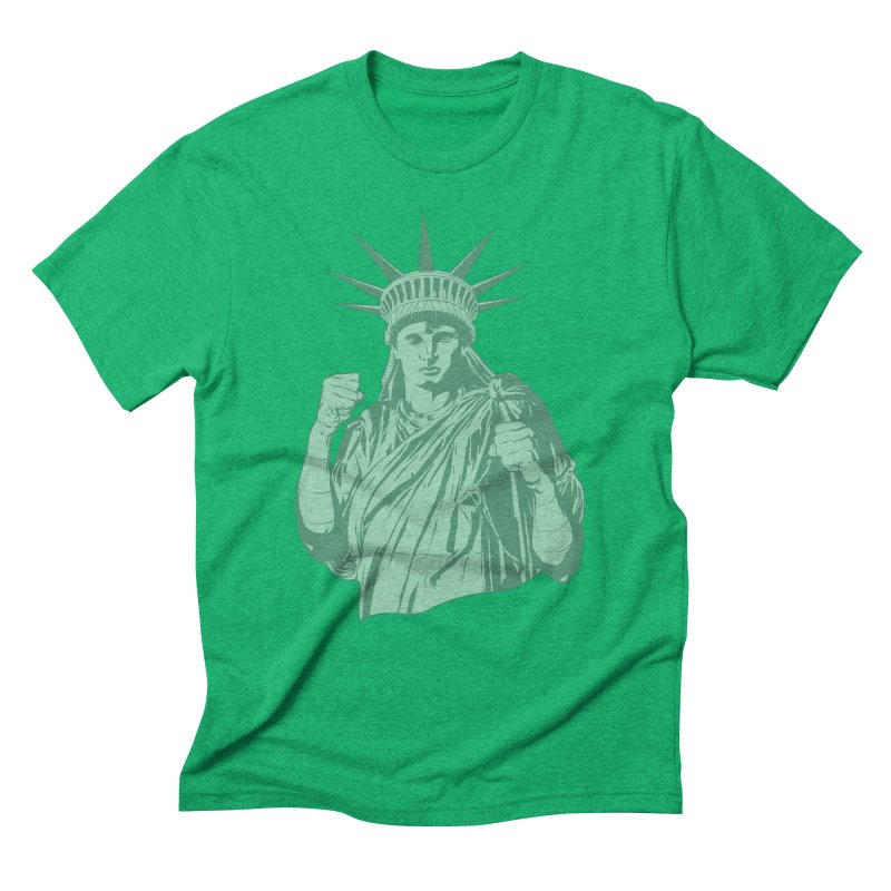 Fight For Your Rights Men's Triblend T-Shirt by Anthony Petrie Print + Product Design