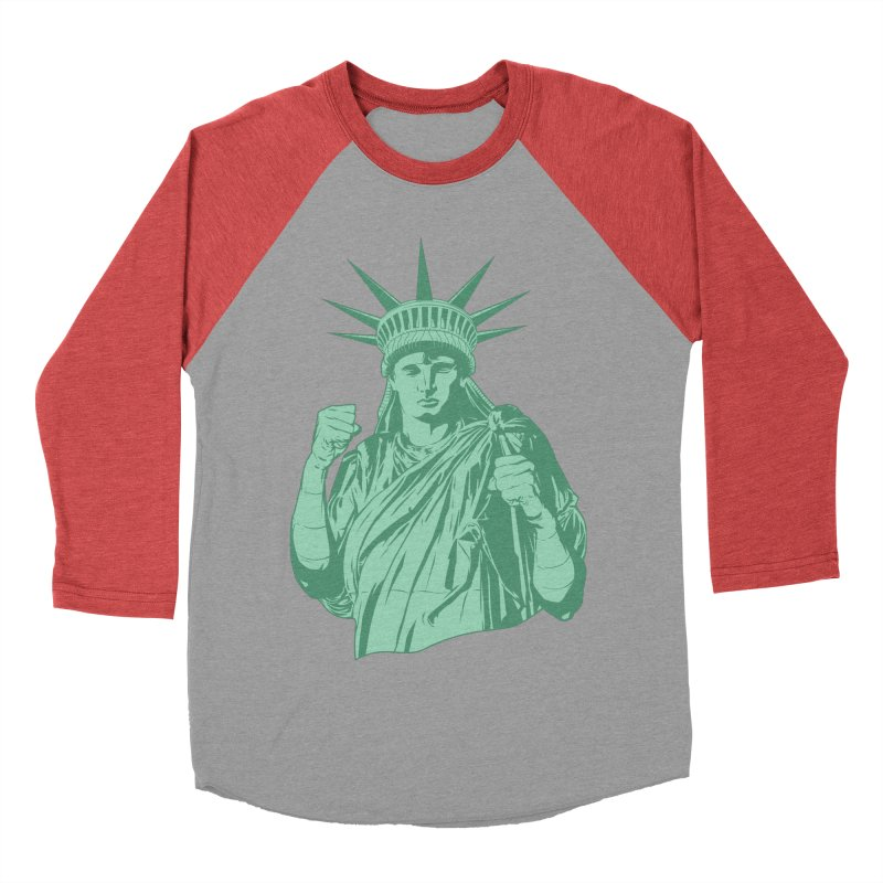 Fight For Your Rights Women's Baseball Triblend Longsleeve T-Shirt by Anthony Petrie Print + Product Design