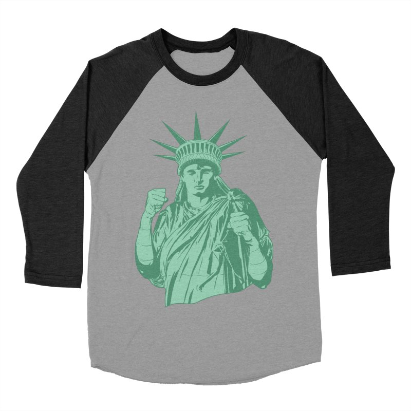 Fight For Your Rights Men's Baseball Triblend Longsleeve T-Shirt by Anthony Petrie Print + Product Design