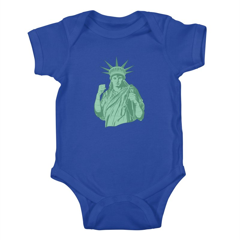 Fight For Your Rights Kids Baby Bodysuit by Anthony Petrie