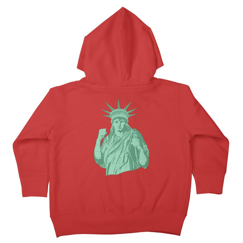 Fight For Your Rights Kids Toddler Zip-Up Hoody by Anthony Petrie Print + Product Design