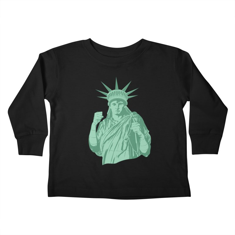 Fight For Your Rights Kids Toddler Longsleeve T-Shirt by Anthony Petrie
