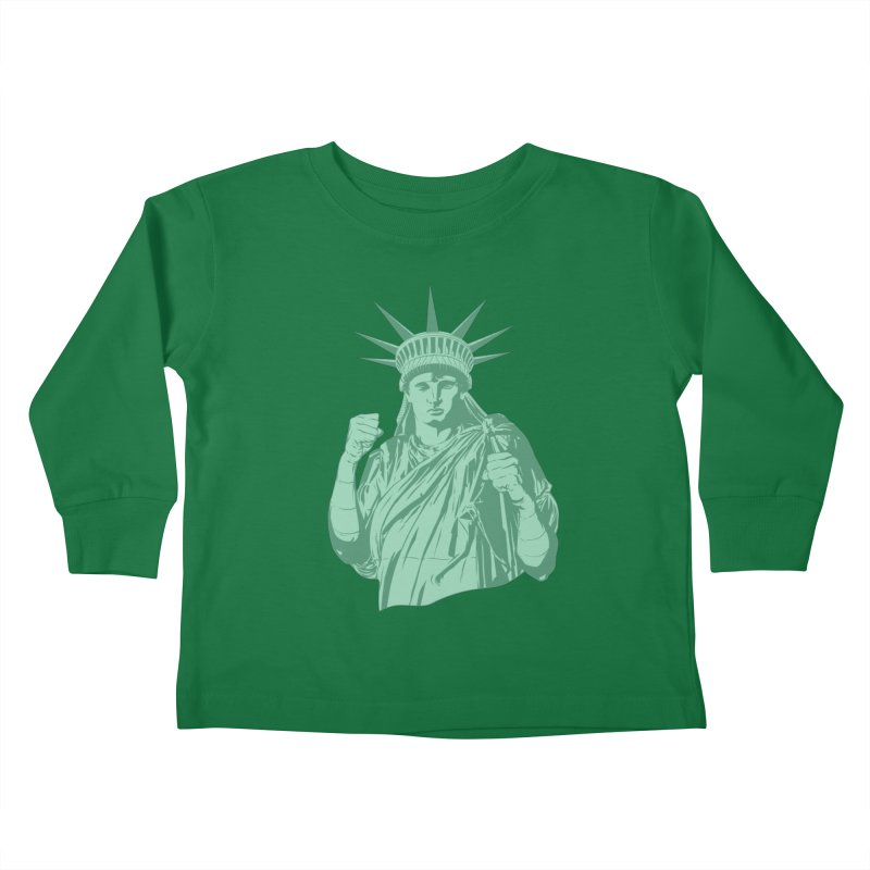 Fight For Your Rights Kids Toddler Longsleeve T-Shirt by Anthony Petrie Print + Product Design