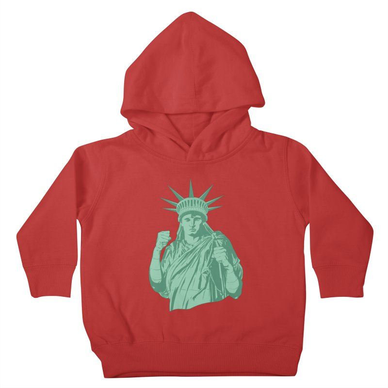 Fight For Your Rights Kids Toddler Pullover Hoody by Anthony Petrie Print + Product Design
