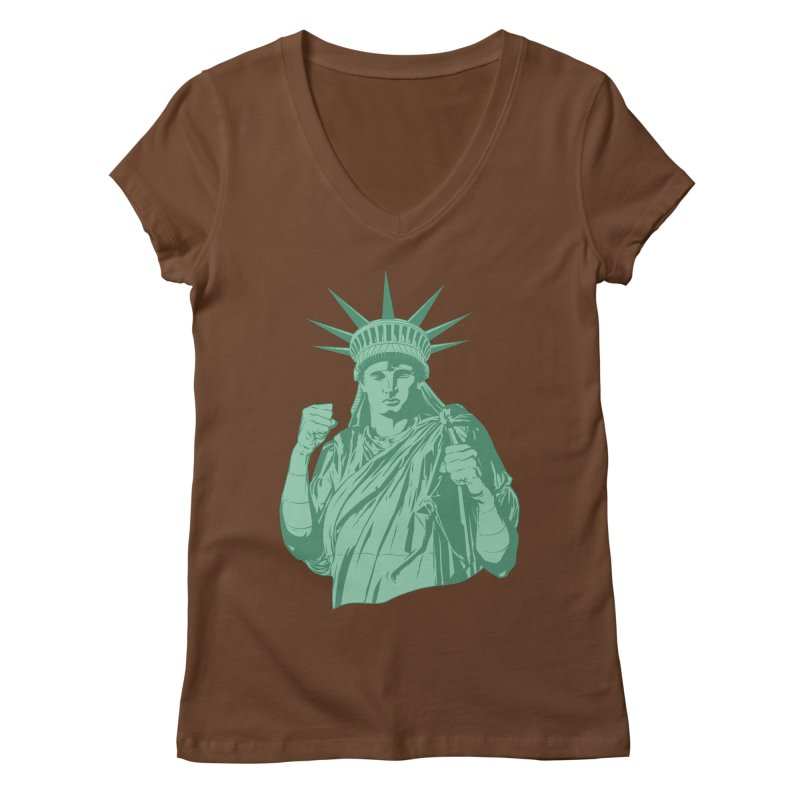Fight For Your Rights Women's V-Neck by Anthony Petrie