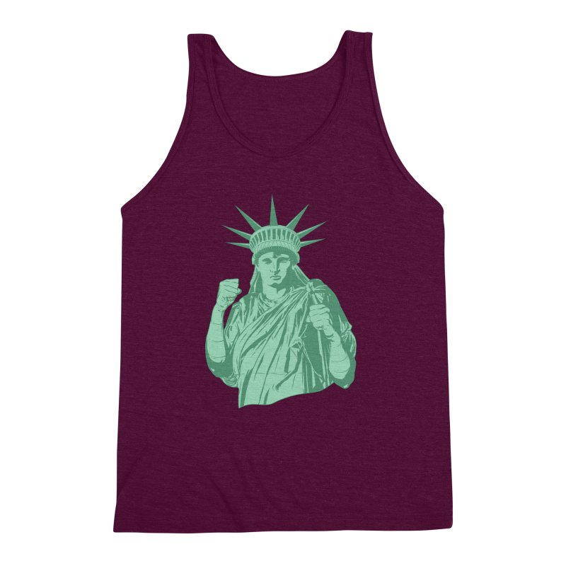 Fight For Your Rights Men's Triblend Tank by Anthony Petrie Print + Product Design