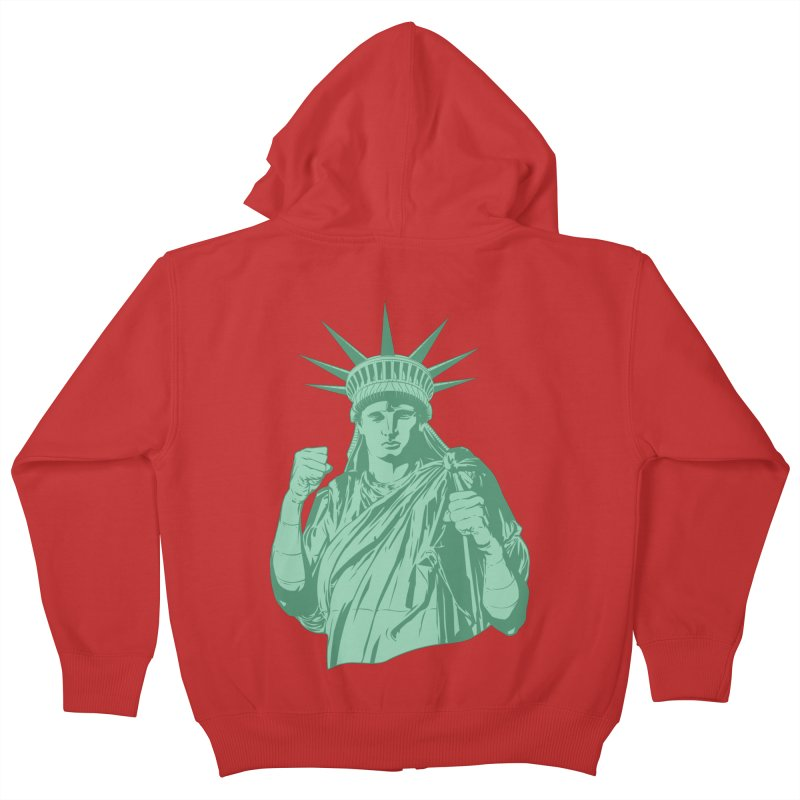 Fight For Your Rights Kids Zip-Up Hoody by Anthony Petrie