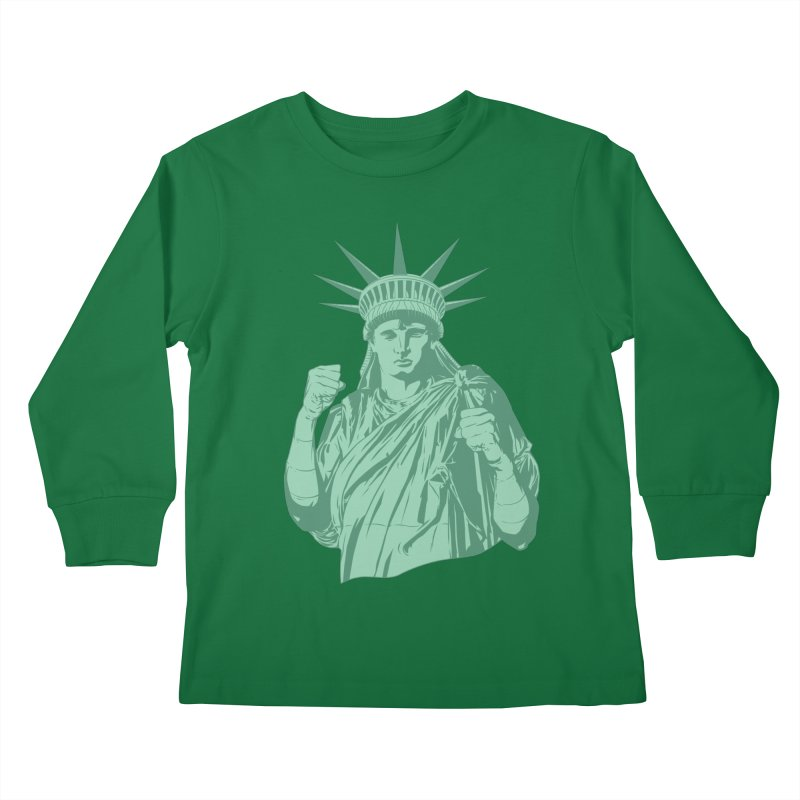 Fight For Your Rights Kids Longsleeve T-Shirt by Anthony Petrie