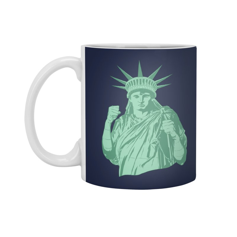 Fight For Your Rights Accessories Standard Mug by Anthony Petrie Print + Product Design