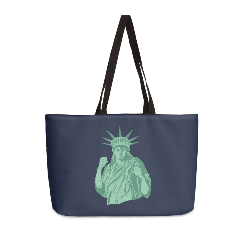 Fight For Your Rights Accessories Weekender Bag Bag by Anthony Petrie Print + Product Design