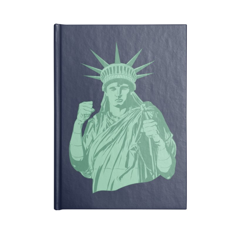 Fight For Your Rights Accessories Lined Journal Notebook by Anthony Petrie Print + Product Design