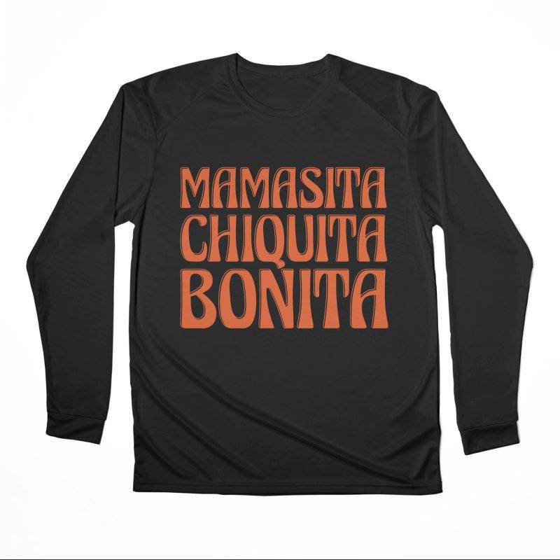 MAMASITA CHIQUITA MAMITA Women's Longsleeve T-Shirt by Anthony Petrie Print + Product Design