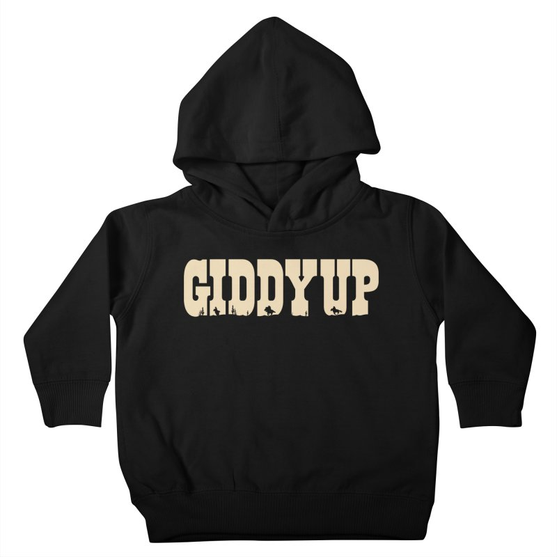 GIDDY UP Kids Toddler Pullover Hoody by Anthony Petrie Print + Product Design